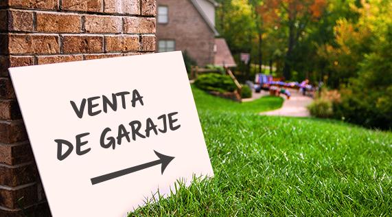 ¿Te vas a mudar? Vende lo que ya no usas. Tips para una venta de garage exitosa.