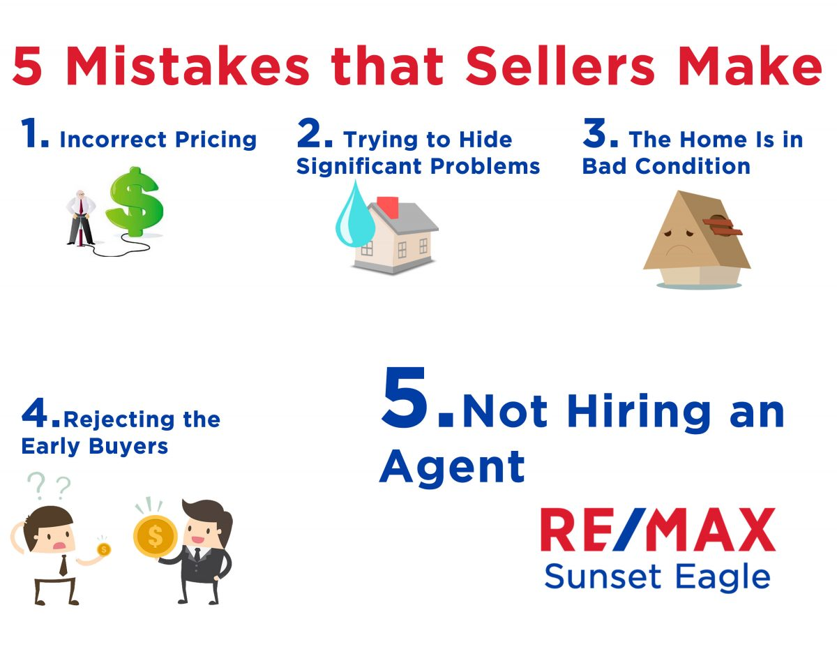 5 Mistakes that sellers make