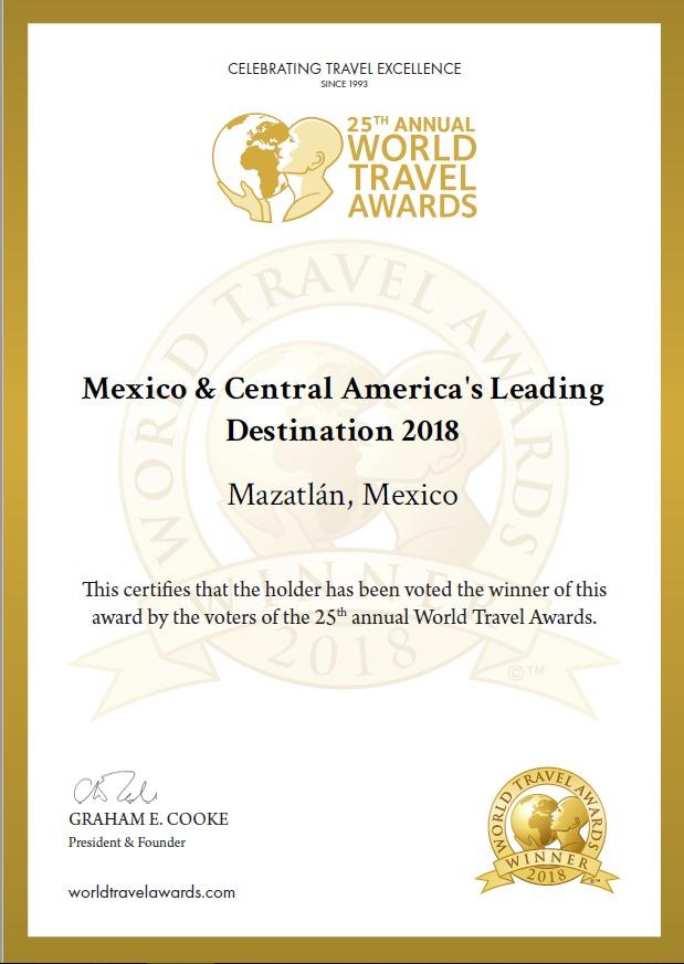 world-travel-award-certificte